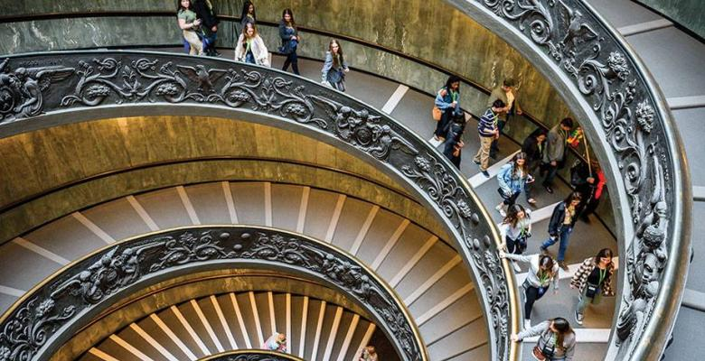 Spiral Stairs from Travel Daily News