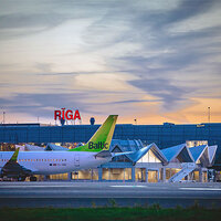Riga airport passenger numbers proceed to develop