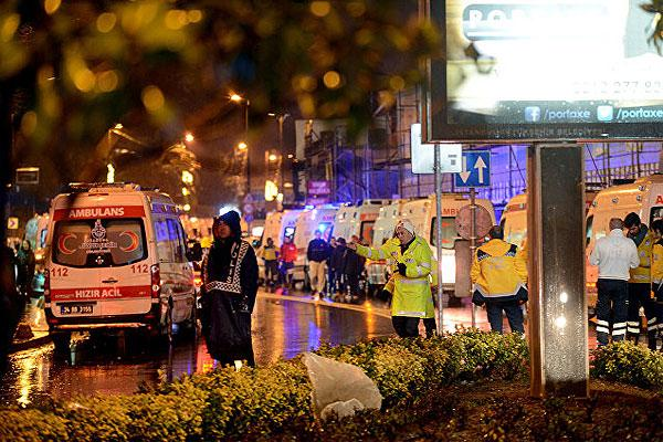 At least 39 people killed at a nightclub attack in Istanbul