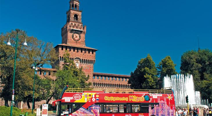 Tours of City Sightseeing Italy affordable on the Trenitalia sales channels, first example of 'tourist intermodality'