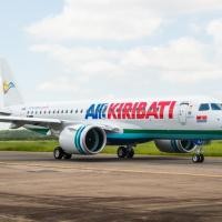 Air Kiribati receives its first E190-E2 jet