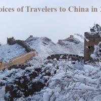 Choices of travelers to China in 2019