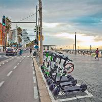 New regulations for shared electric scooter companies in ?el Aviv