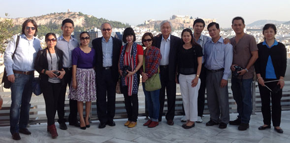 Fam Trip in Greece with VISTA members