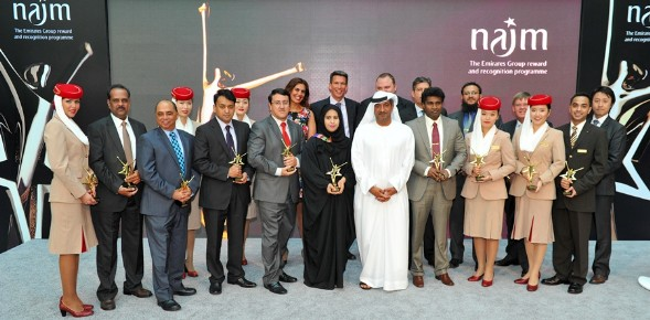 by the Emirates Group in the annual Najm Chairman's Awards