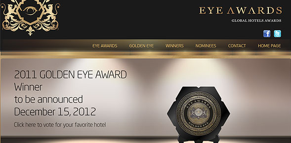 Eye Awards: The Luxury Hotels  Eye Awards: The World's best luxury hotels EYE