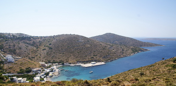 Agathonisi island in Greece