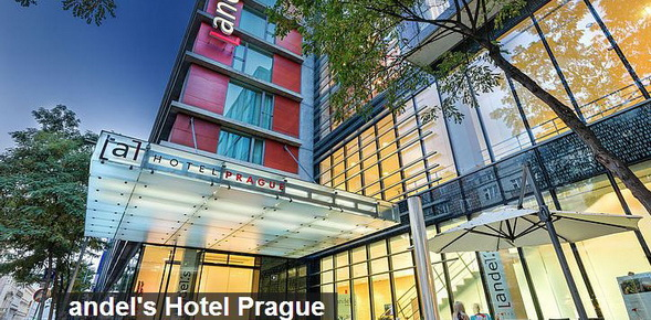 Hotel andel's Prague, Czech Republic