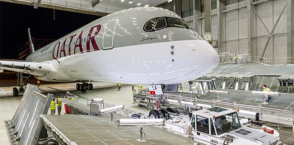Airbus A350 XWB de Qatar Airways
