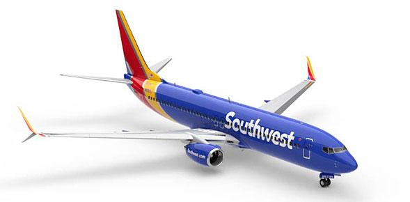 Avión de Southwest